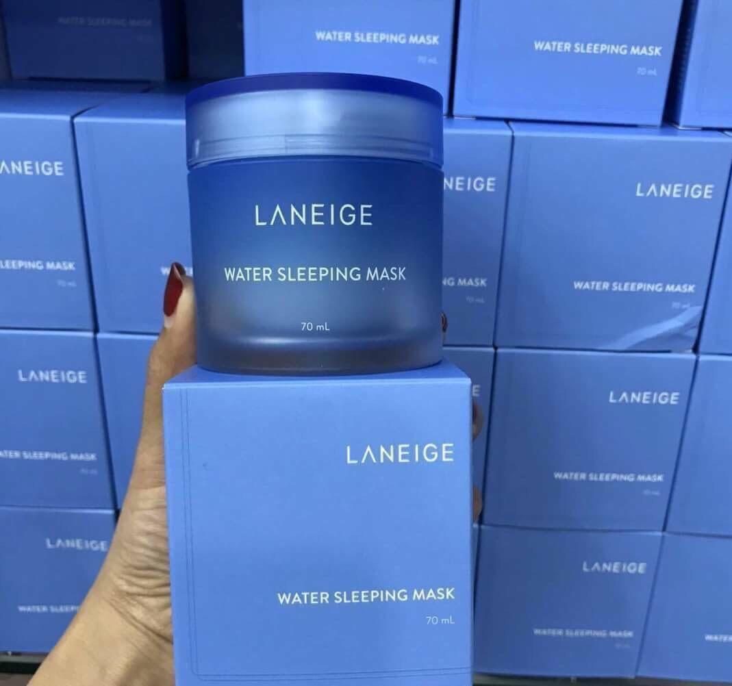 ( New Package 2020) Laneige Water Sleeping Mask 70ml. / Pw    สลีปปิ้งมาสก์ยอดนิยมที่ขายดีตลอดกาล.