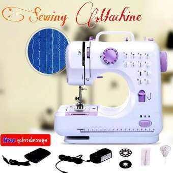 มาใหม่ ใหญ่ขึ้น !Sewing Machine จักรเย็บผ้า จักรเย็บผ้าไฟฟ้า จักรเย็บผ้าไฟฟ้าไร้สาย มาพร้อมอุปกรณ์ครบชุด Mini Multifunctional Household Sewing Machine