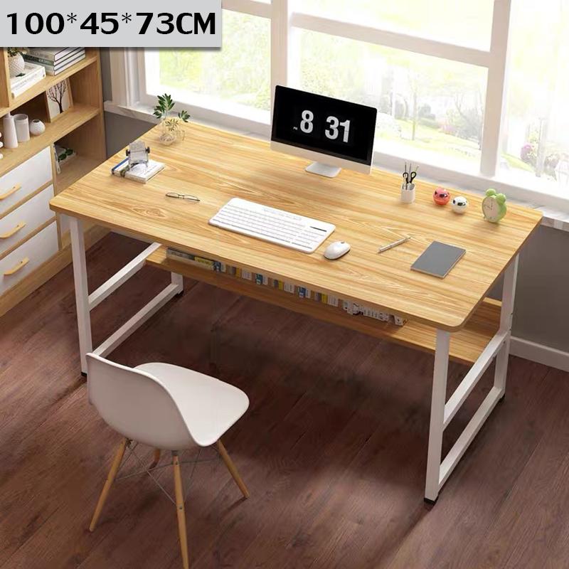 โต๊ะ โต๊ะทำงาน โต๊ะราคาถูกๆ โต๊ะสำนักงาน วางคอมพิวเตอร์ได้อย่างดี พ่นกันสนิมแล้ว แข็งแรง หลายขนาด80/100/120cmComputer Desk Table โต๊ะคอมพิวเต