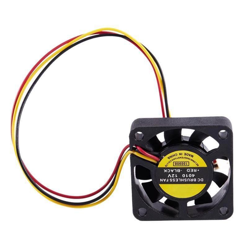 Bảng giá 40mm x 40mm x 10mm 3Pin 12V DC Brushless PC Computer Cooling Fan Phong Vũ