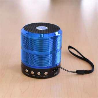 WS-887 Bluetooth Speaker ลำโพงบลูทูธไร้สาย พกง่าย กะทัดรัด เสียงดี