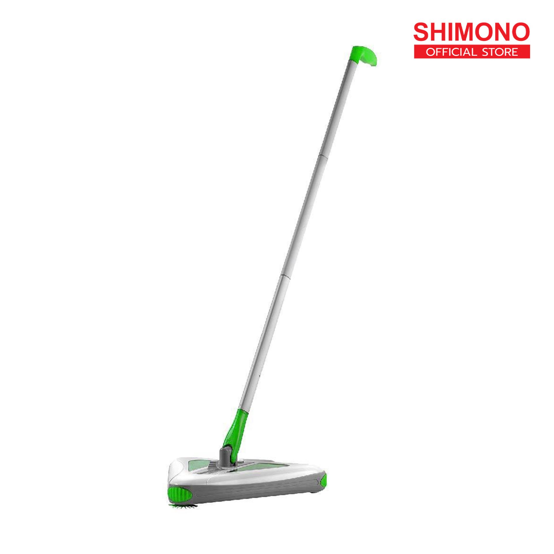 Shimono ไม้กวาดไฟฟ้าอัจฉริยะ Sw-3737 ไม้กวาดสามเหลี่ยม.
