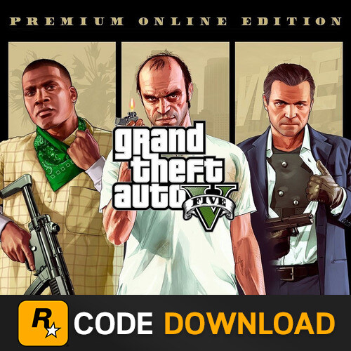 ขายคีย์เกมแท้ Gta V ( จีทีเอวี ) เล่นออนไลน์ได้ Five M ได้ Grand Theft Auto V - Premium Online Edition | Rockstar Social Club Key.