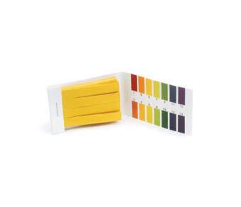 กระดาษ pH (ลิตมัส) วัดค่ากรด-ด่าง 1-14 (80 แถบ)