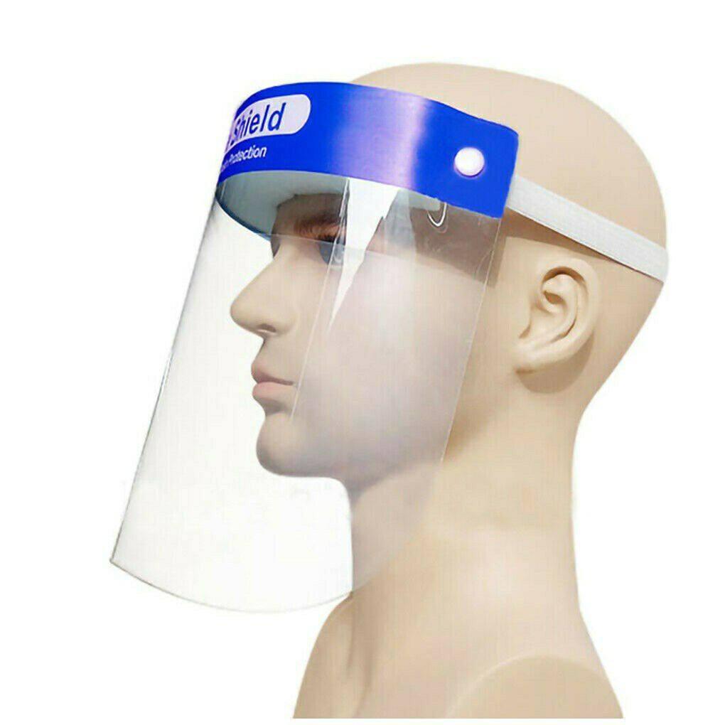 Face shield ปกป้องใบหน้าลาสติกหนาพิเศษ ดัดงอตามรูปหน้า-