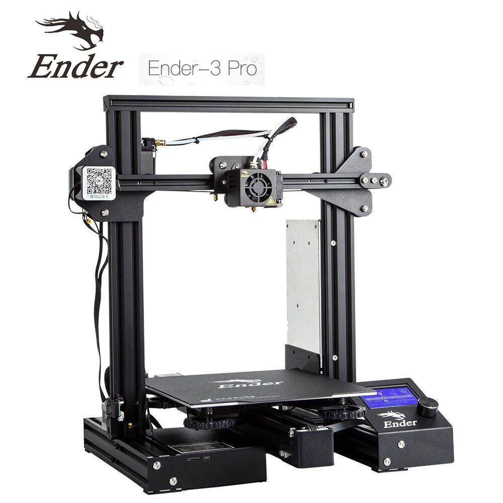 3d Printer Creality Ender3 Pro Print Size 220*220*250 Mm High Precision Diy(สินค้าประกอบเอง) By Print3dpro.net.