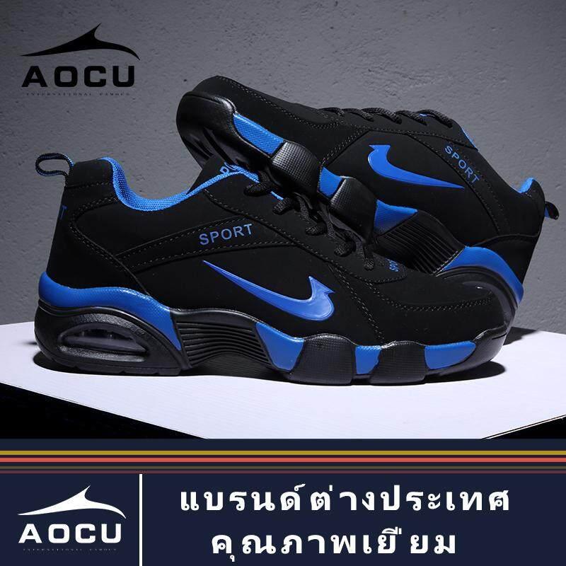 AOCU 2019 รองเท้าวิ่งรองเท้าผ้าใบรองเท้าสำหรับผู้ชายรองเท้ากีฬาลำลองรองเท้าผ้าใบรองเท้าผ้าระบายอากาศ