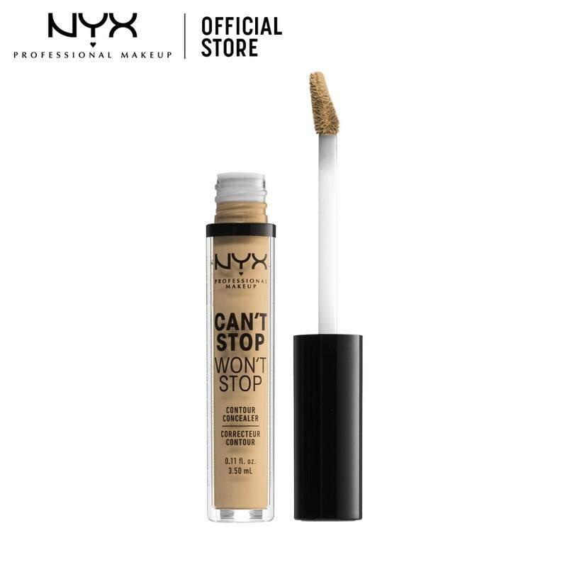 คอนซีลเลอร์ปกปิดติดทน นิกซ์ โปรเฟสชั่นแนล เมคอัพ แคนท์ สตอป วอนท์ สตอป คอนทัวร์ คอนซีลเลอร์ NYX Professional Makeup CAN'T STOP WON'T STOP CONTOUR CONCEALER (คอนซีลเลอร์)