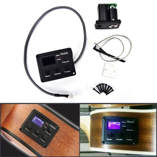 Mua zhaoyanping Ukulele Ukelele Piezo Pickup Preamp 3-Band EQ Equalizer Hệ Thống Tuner Màn Hình LCD