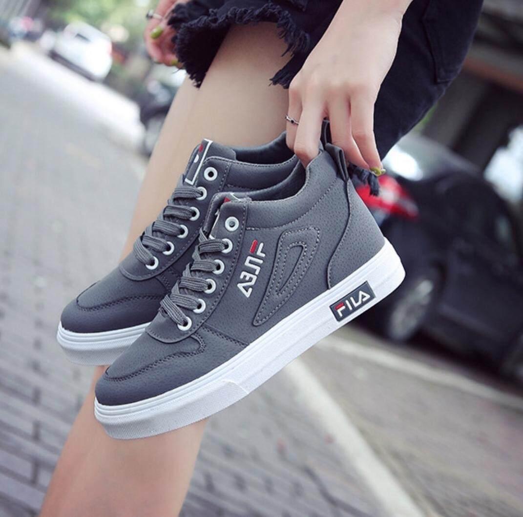 Addision รองเท้าผ้าใบผู้หญิง รองเท้าแฟชั่นสไตล์เกาหลี A061.