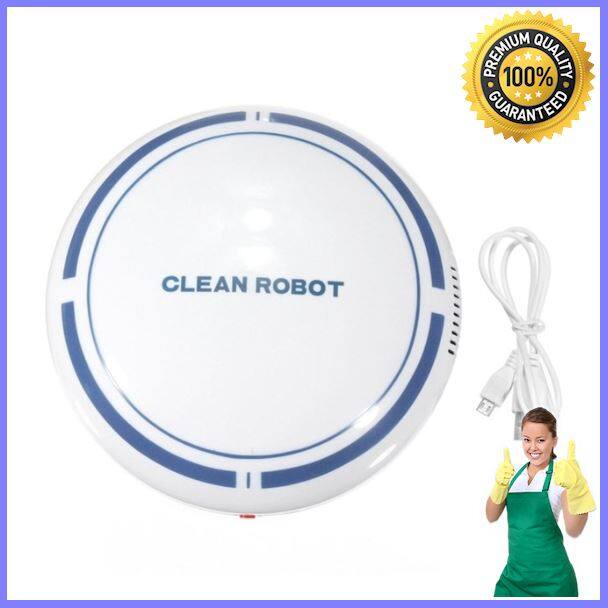 Robot ดูดฝุ่น Automatic Rechargeable Cleaning Robot Smart Sweeping Robot Vacuum Cleaner [ราคาถูกที่สุด]