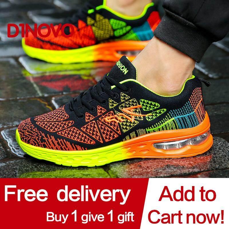แฟชั่นผู้ชายผู้หญิงรองเท้ารองเท้า Unisex ถนนต่ำรองเท้ารองเท้าสำหรับผู้ชายและผู้หญิงรองเท้าผ้าใบรองเท้าวิ่ง By Jingkuan-Store.