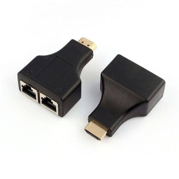 Bảng giá Đen Nhựa Cứng Mèo 5e / 6 Cho HD-DVD 30 Mét Cáp HDMI Extender Mạng RJ45 Cho PS3 Phong Vũ