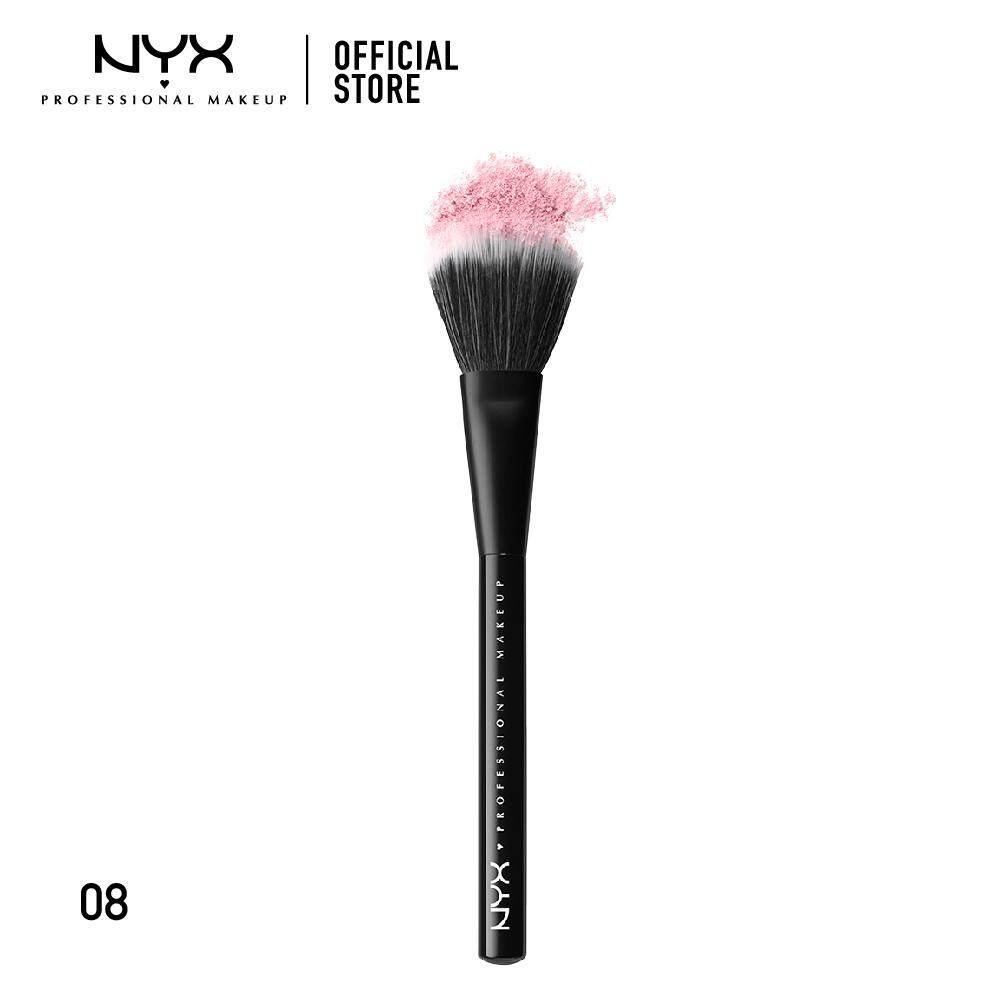 แปรงแต่งหน้าขนสังเคราะห์สัมผัสนุ่ม นิกซ์ โปรเฟสชั่นแนล เมคอัพ เมคอัพ บรัช NYX Professional Makeup Makeup Brush - PROB08 (แปรงแต่งหน้า)