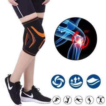 ปลอกรัดเข่า ใส่วิ่ง ออกกำลังกาย ป้องกันอาการปวดหัวเข่า ผ้ารัดเข่า บรรเทาอาการปวดเข่า Knee Pads Support (1คู่)-