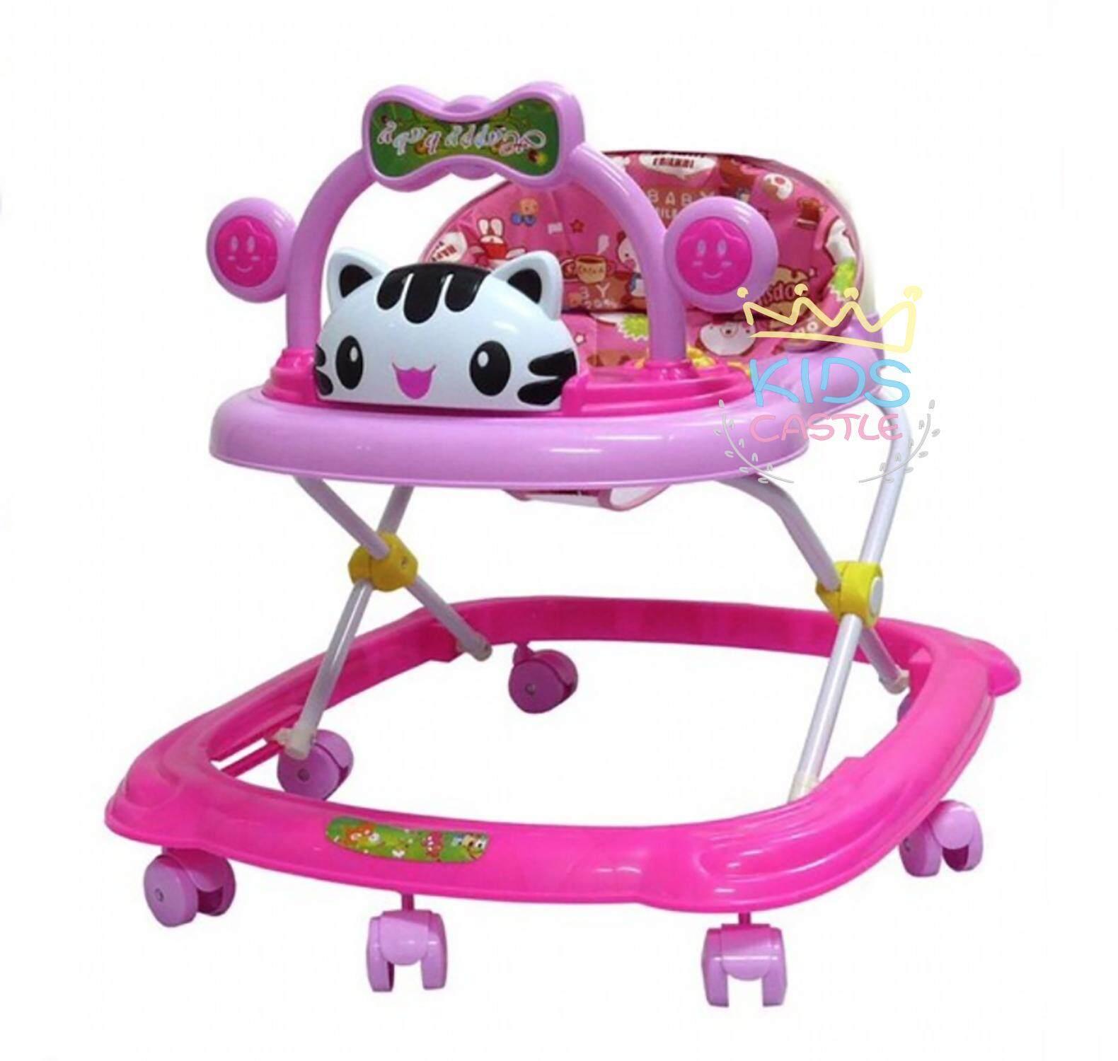 รีวิว Kids castle รถหัดเดินน้องแมวน้อยมีของเล่นมีเพลง7ล้อแข็งแรง