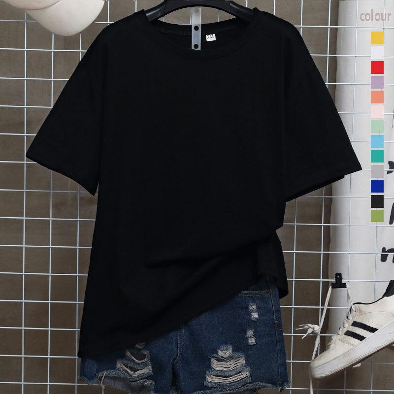 Fashion Bbk มี 13สี ให้เลือกsize(s-3xl) เสื้อยืดคอกลม เสื้อยืดสีพื้น เสื้อยืดตัวเปล่า ไม่ต้องรีด ผ้าคุณภาพเกินราคา ใส่ได้ทั้งหญิง-ชาย.