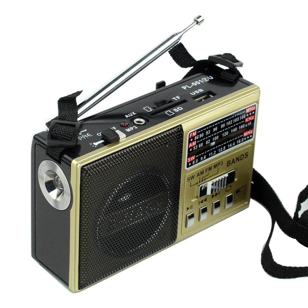 Telecorsa วิทยุ Pae Pl-001 2u มีไฟฉาย รุ่น Xb-324urt-06a-K3 By Mhf Thailand.
