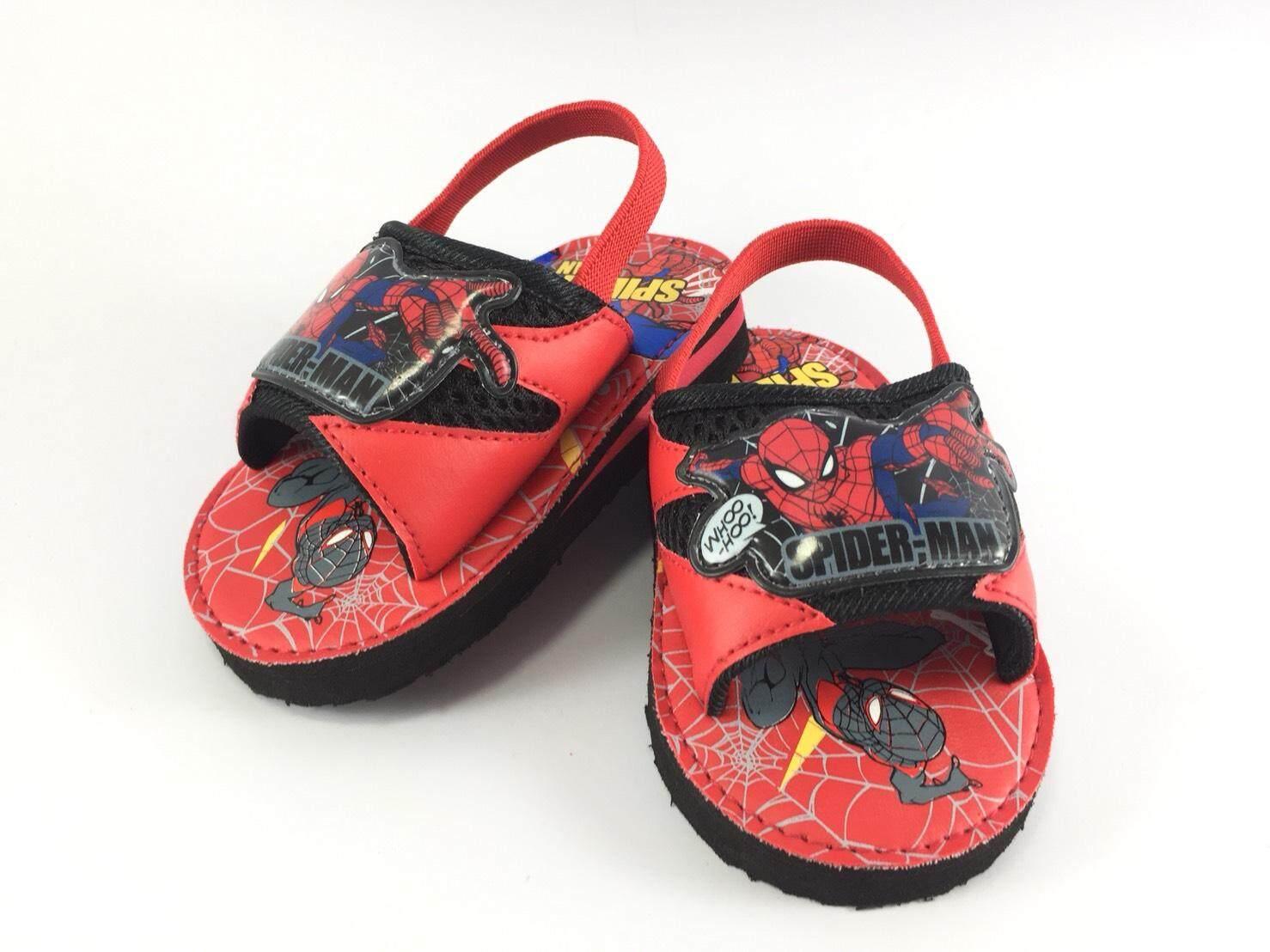 รองเท้าแตะeva สวมรัดส้นเด็กหัดเดิน ลาย Spiderman By Shou Group International Co.,ltd..