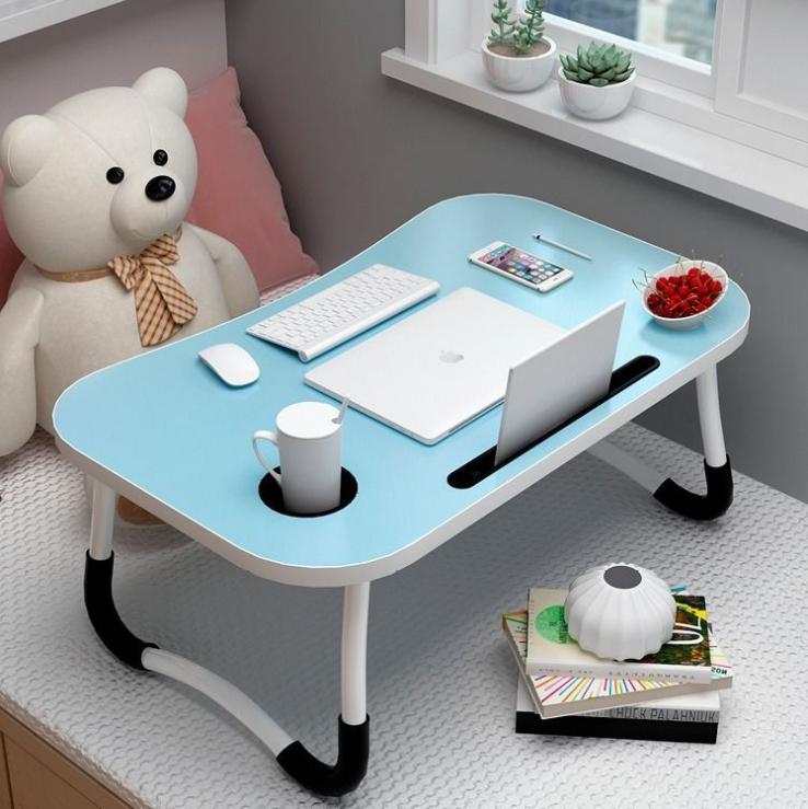 โต๊ะ โต๊ะพับ โต๊ะวางโน๊ตบุค โต๊ะคอม โต๊ะอ่านหนังสือ พับเก็บได้ โต๊ะเขียนหนังสือ วางโทรศัพท์ B0014/B0016