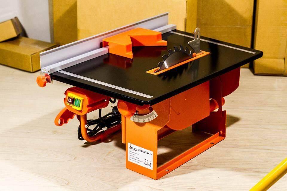 Imax โต๊ะเลื่อยวงเดือน 8 นิ้ว 800w ตัดไม้ได้หนาสุด 10cm (ฟรี! ใบเลื่อย 8 นิ้ว ติดตัวเครื่อง 1 ใบ) By Pp_tools.