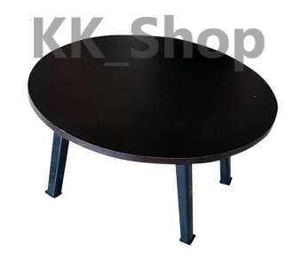 KK Shop โต๊ะญี่ปุ่น กลม 60ซม. ลายไม้-