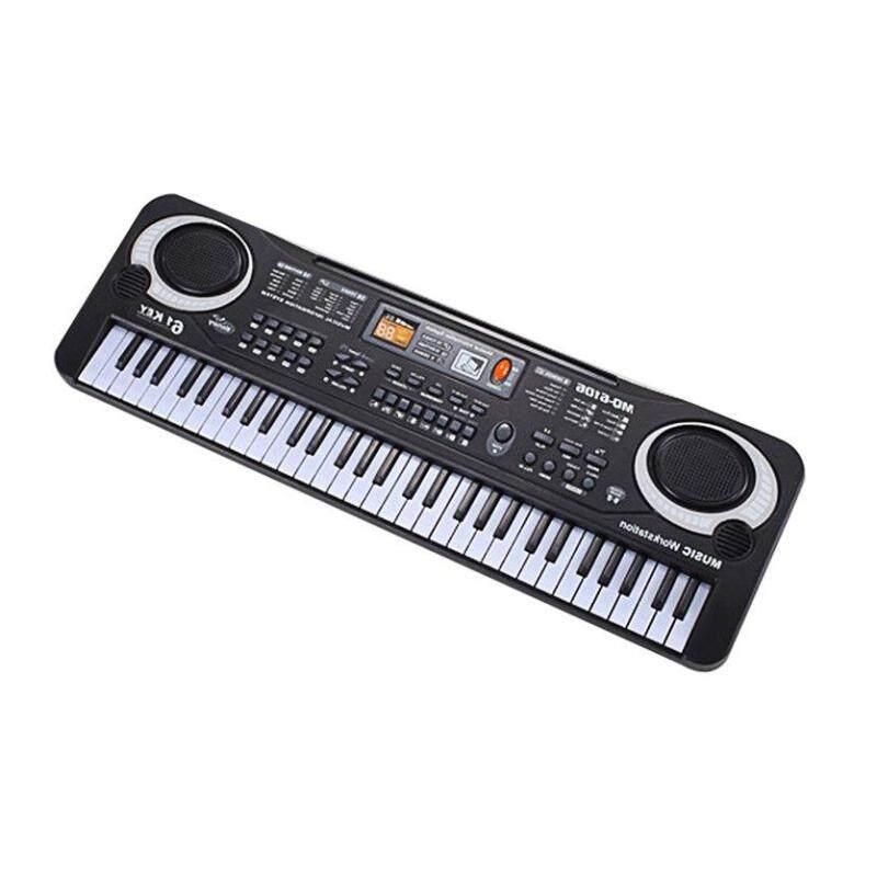 TOP 61 Phím Đàn Piano Điện Tử Bàn phím Micro Trẻ Em Dụng Cụ Âm Nhạc