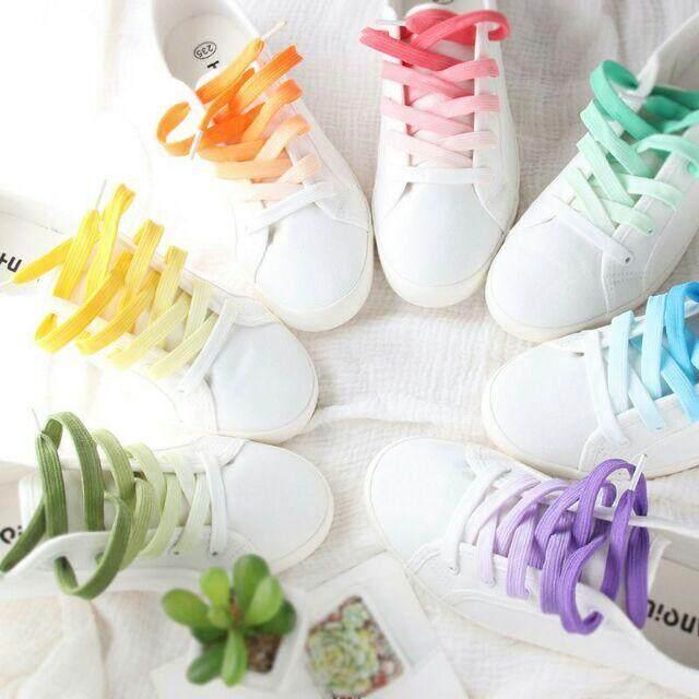 เชือกรองเท้าไล่ระดับสี By Shoes_bag.leo.