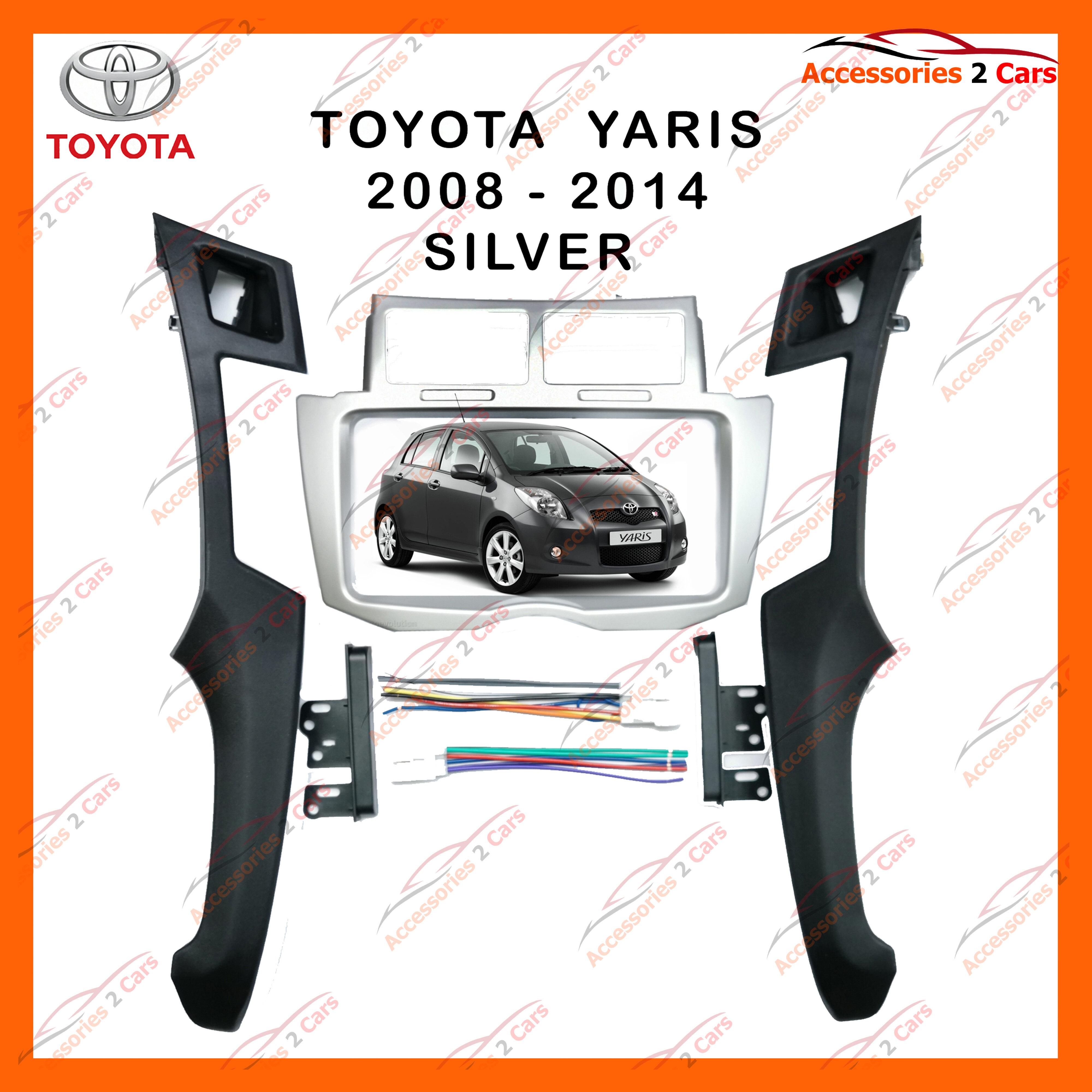 ซื้อที่ไหน หน้ากากวิทยุรถยนต์ TOYOTA YARIS สำหรับจอ 7 นิ้ว(NV-TO-142)