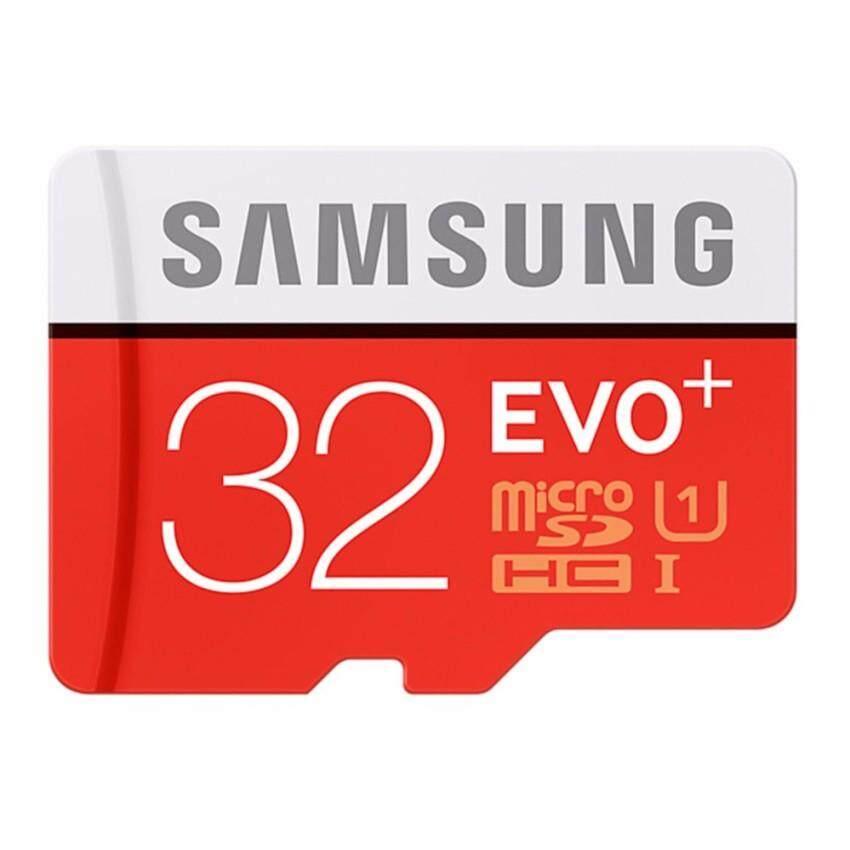 รับประกันของแท้ 100% Micro Sd Card Samsung Evo Plus Micro Sd Card(ไมโครเอสดีการ์ด) Class 10 32 Gb ไมโครเอสดีการ์ด Sd Card Micro Sd Card 32gb ราคา ถูก ส่งฟรี Kerry (ระวังของลอกเลียนแบบ).