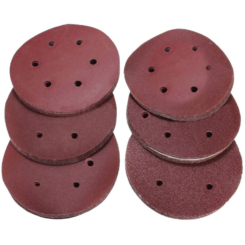 60 Pcs Sand Disc Sandpaper Polishing Pad Sand for Cleaning and Polishing