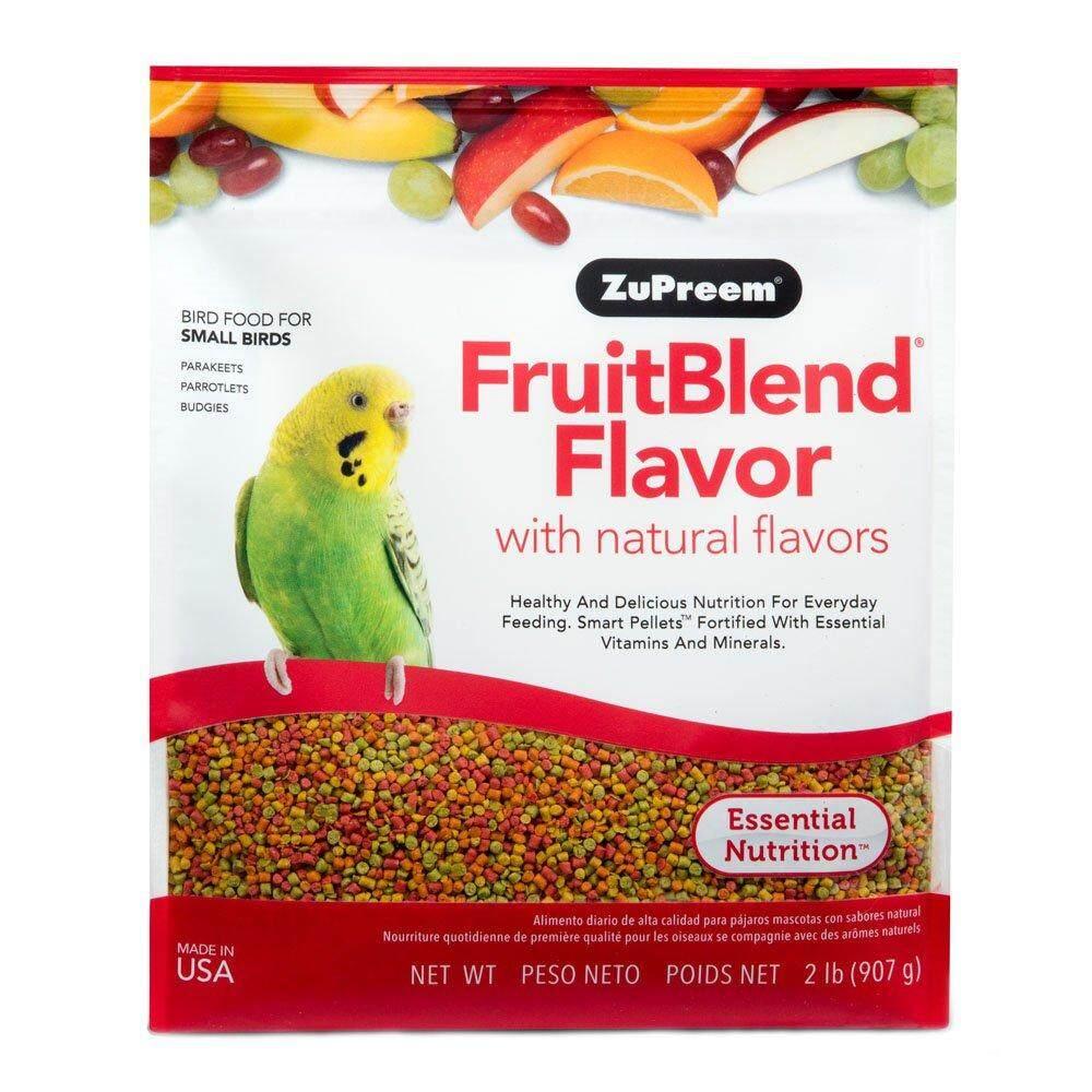 900g./2lb. - ซูพรีม อาหารผลไม้อัดเม็ดสำเร็จรูป (small Birds) สำหรับนกฟอพัส หงส์หยกและนกแก้วขนาดเล็กอื่นๆ.