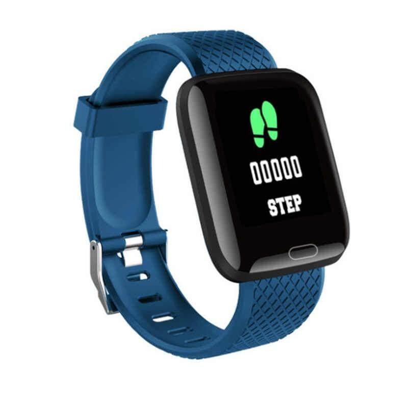 All U Can Buy❤✿❤116 Plus สมาร์ทนาฬิกากำไลสวยงามหน้าจอสี Ip67 กันน้ำการเชื่อมต่อไร้สาย Bluetooth นาฬิกากีฬา.