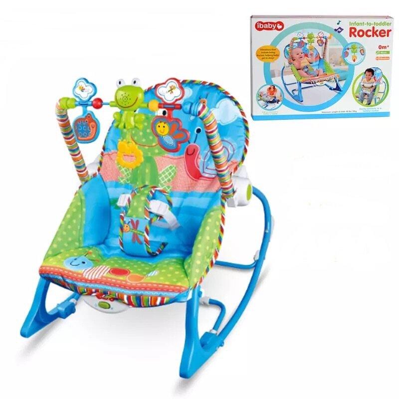 รีวิว เปลโยก-สั่น มีเสียงเพลง ibaby Infant-to-toddler Rocker
