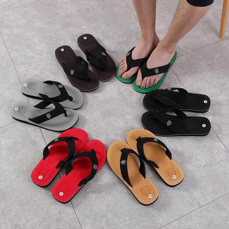 รองเท้าแตะลำลอง รองเท้าแตะหาดทราย เทรนมาแรง No.588 By Cwc Fashion.