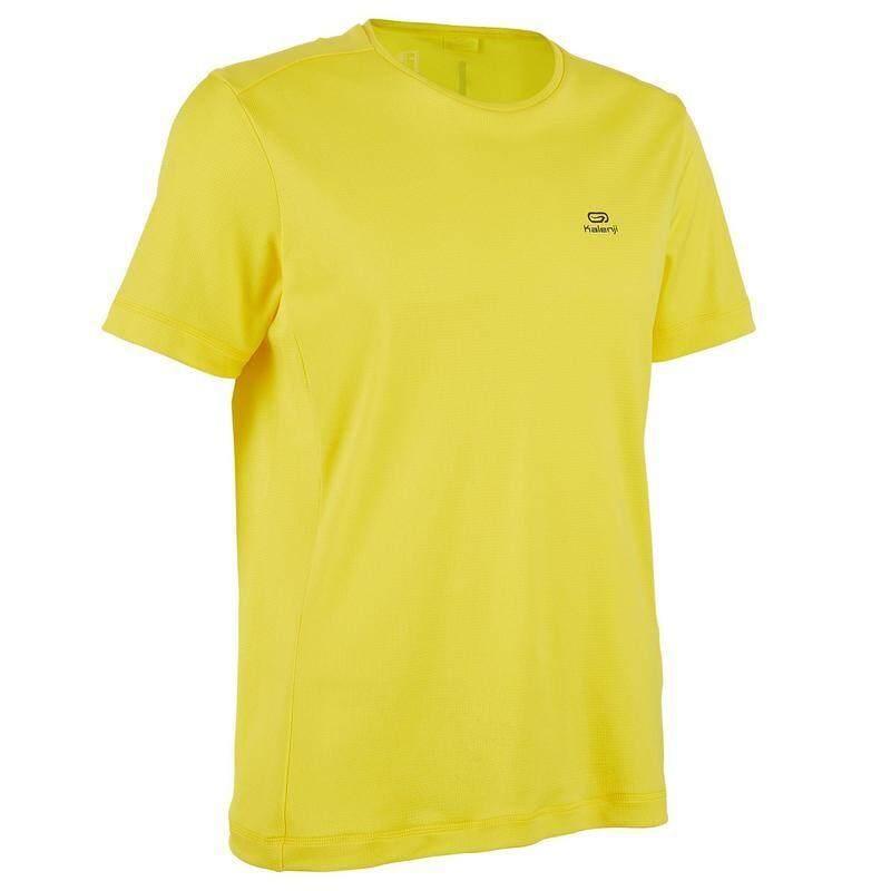 เสื้อยืดใส่วิ่งสำหรับผู้ชายรุ่น Run Dry (สีเหลือง) By Thirty Oneshop.