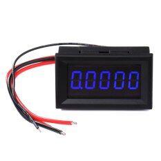 ขาย เครื่องวัดแอมมิเตอร์ 5 Digit High Accuracy Dc 3 0000A Ammeter Current Ampere Panel Meter Gauge Current Monitor Tester Blue Led Digital Display Unbranded Generic ถูก