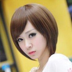 ขาย ซื้อ ออนไลน์ วิกผมสั้น สีน้ำตาลทอง รหัส013 Cala Wigs เส้นไหมทนความร้อนสูงจากเกาหลีอย่างดี100