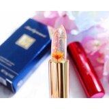 ซื้อ ของแท้ 100 Kailijumei Flower Jelly Lip ลิปเจลลี่ดอกไม้ รุ่นผสมทองคำ Kailijumei 3 8 G ดอกไม้สีส้มทาแล้วให้สีชมพูระเรื่อ ถูก