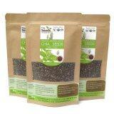 Chia Seeds เมล็ดเจีย ออร์แกนิค ตรา The Seeds ขนาด 100Gx3 เป็นต้นฉบับ