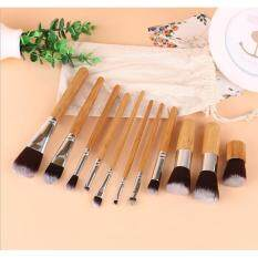 11 Main Colors Bamboo Handle European And American Beauty Brushes Top Beauty Tools กรุงเทพมหานคร