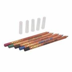 ดินสอเขียนขอบตา ขอบปาก12สี Menow Oriental Wood Cosmetics Pencil ใหม่ล่าสุด