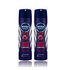 ขาย ซื้อ นีเวีย ดีโอ เมน ดราย อิมเเพ็ค สเปรย์ 150 มล แพ็ค 2 Nivea Deo Men Dry Impact Spray 150 Ml Pack 2 สมุทรปราการ