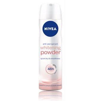 นีเวีย ดีโอ สเปรย์ พาวเดอร์ ทัช 150 มล. แพ็ค 2 NDWM Whitening Powder spray 150 mlPack 2