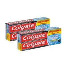ทบทวน ที่สุด คอลเกต ยาสีฟัน เกลือ ถ่านชาร์โคล 150 กรัม แพ็คคู่X2