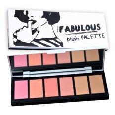 ซื้อ มิสทิน แฟบบิวลัช บลัช พาเลท 18 ก Mistine Fabulous Blush Palette 18 G Mistine ออนไลน์