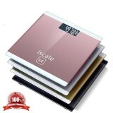 ซื้อ เครื่องชั่งน้ำหนักดิจิตอล180Kg Iscale Se Bathroom Floor Body Fat Scale Household Smart Electronic Digital Weight Scale Health Lcd Backlight Display Scale(Pink) Meizu ออนไลน์
