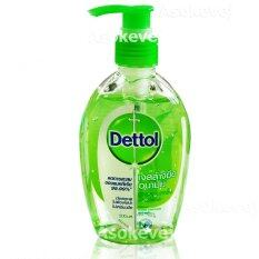 ส่วนลด เดทตอล เจลแอลกอฮอล้างมือ อนามัย 200 มล Dettol Instant Hand Soap Sanitizer 200 Ml 1ขวด Dettol
