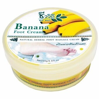 ครีมนวดส้นเท้าแตกกล้วยหอม 200 g.