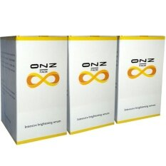 ราคา ออนซ์เฟส อินเทนซีฟ ไบรท์เทนนิ่ง เซรั่มบำรุงผิวหน้า ช่วยลดริ้วรอย กระ จุดด่างดำ ปริมาณ 25 กรัม 3 กล่อง ออนไลน์